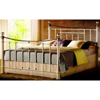 Кровать двуспальная с изножьем  MK-2230-WB