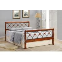 Кровать односпальная с изножьем MK-5229-RO