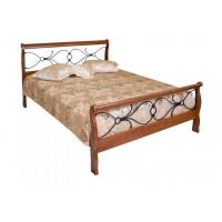 Кровать двуспальная с изножьем 425 N MK-2121-RO