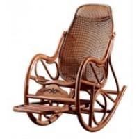 Кресло- качалка из ротанга