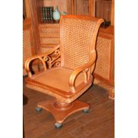 Кресло к рабочему столу из ротанга