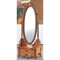 Зеркало с тумбочкой из ротанга