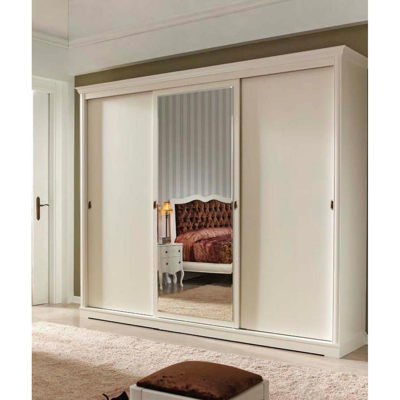 Белый шкаф в спальню, самые красивые варианты и их особеннос.