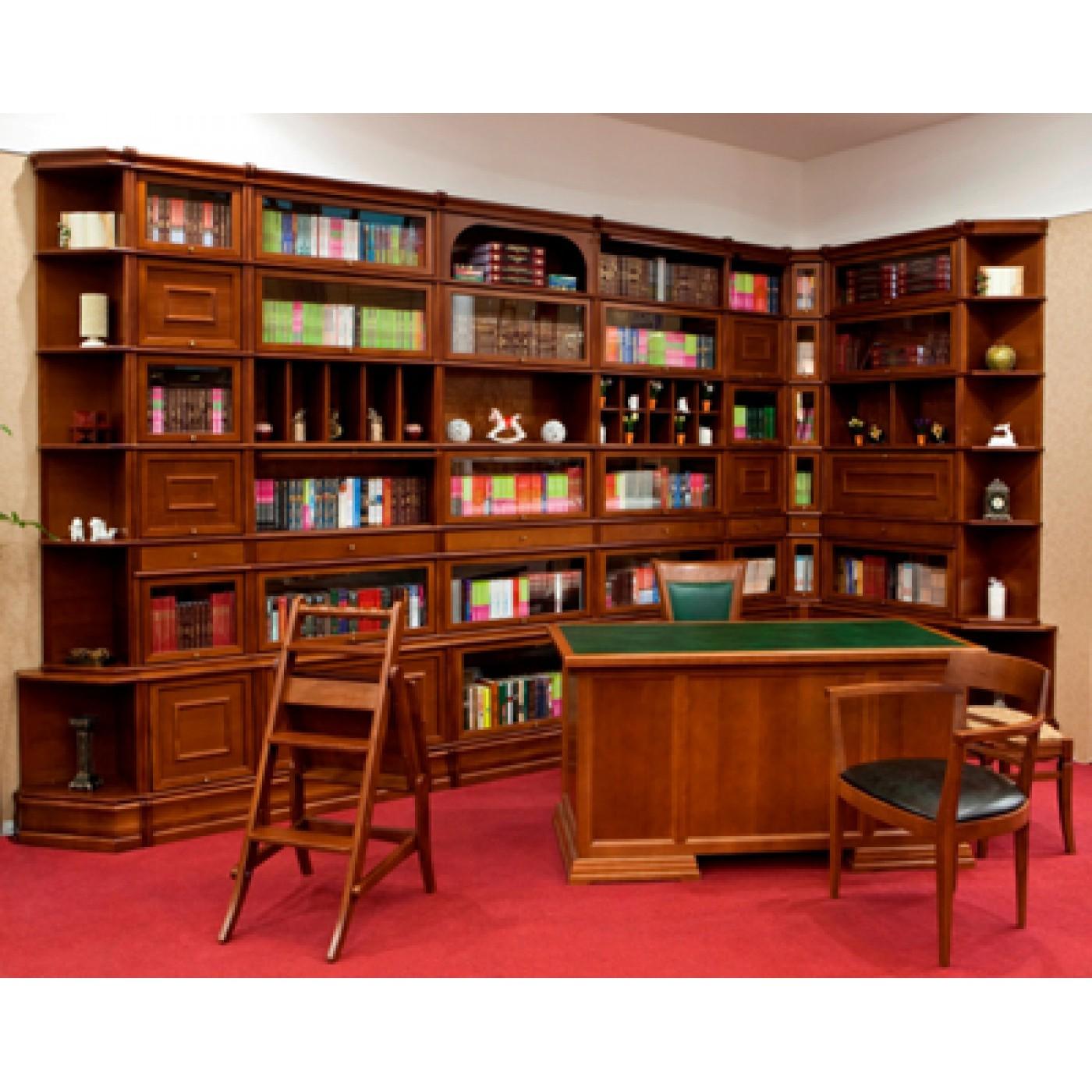 Какая библиотека с фасадом книг.