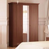 Шкаф 3-х дверный для платья и белья Ekaterina