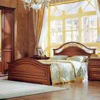 Двуспальная кровать, вариант №1 Joconda орех