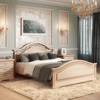 Двуспальная кровать, вариант №1 Joconda крем